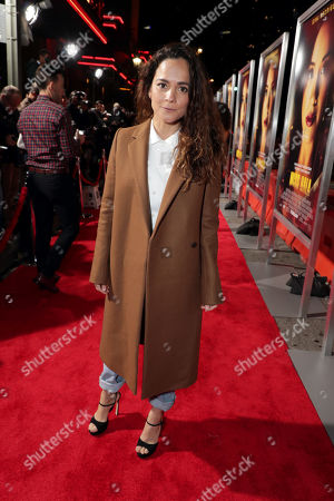Alice Braga seen at Columbia Pictures presents the World Premiere of MISS BALA at Regal L.A. Live