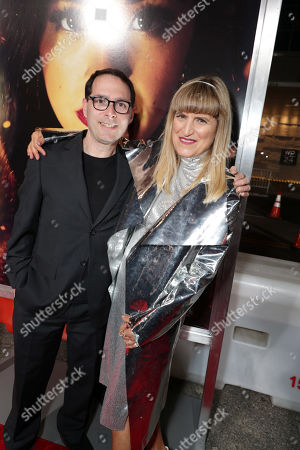 Alex Heffes, Composer, and Catherine Hardwicke, Director/Executive Producer, seen at Columbia Pictures presents the World Premiere of MISS BALA at Regal L.A. Live