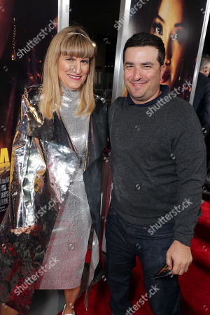 Stock Photo of Catherine Hardwicke, Director/Executive Producer, and Josh Greenstein, President, Sony Pictures Worldwide Marketing & Distribution, seen at Columbia Pictures presents the World Premiere of MISS BALA at Regal L.A. Live