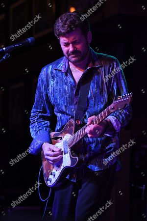 Editorial image of Tab Benoit in concert at The Funky Biscuit, Boca Raton, USA - 30 Jan 2019