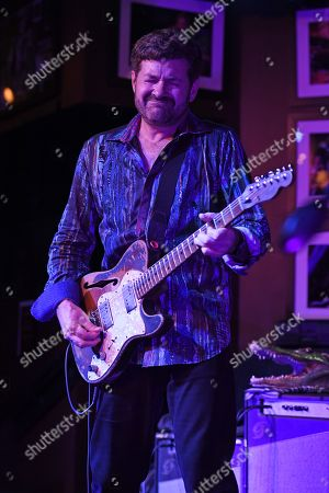 Editorial picture of Tab Benoit in concert at The Funky Biscuit, Boca Raton, USA - 30 Jan 2019
