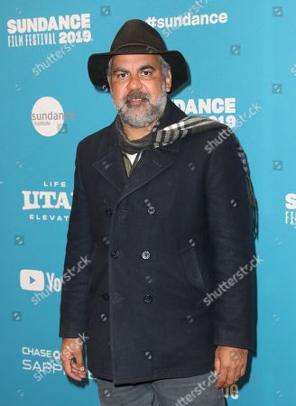 Indigenous Australian director Wayne Blair talks to the press as he arrives for the premiere of ''Top End Wedding'' at the 2019 Sundance Film Festival in Park City, Utah, USA, 30 January 2019. The festival runs from 24 January to 02 February 2019.