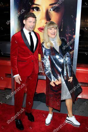 Matt Lauria and US director Catherine Hardwicke