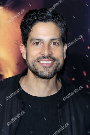 Stock Picture of Adam Rodriguez arrives for the world premiere of 'Miss Bala' at the Regal L.A. Live in Los Angeles, California, USA, 30 January 2019. The movie opens in the USA on 01 February 2019.