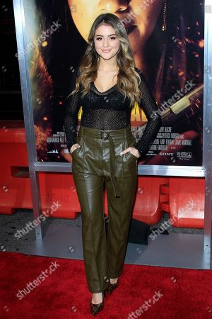 Lauren Giraldo arrives for the world premiere of 'Miss Bala' at the Regal L.A. Live in Los Angeles, California, USA 30 January 2019. The movie opens in the USA on 01 February 2019.