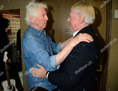 Graham Nash and Allen Clarke