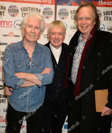 Graham Nash, Allan Clarke and Joe Boyd