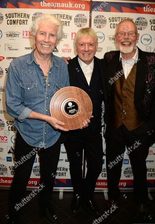 Graham Nash, Allan Clarke and Bob Harris