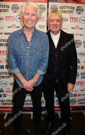 Graham Nash and Allan Clarke
