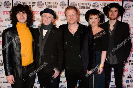 Editorial picture of Americana Music Awards, Arrivals, Hackney Empire, London, UK - 31 Jan 2019
