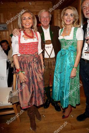 Gabriele zu Leiningen, mother Renate Thyssen-Henne, Balthasar Hauser