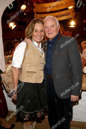 Werner Baldessarini, wife Cathrin