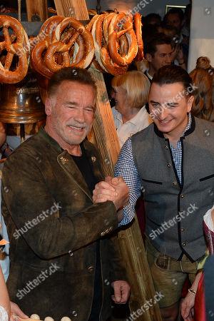 Arnold Schwarzenegger, Andreas Gabalier
