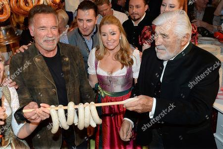 Arnold Schwarzenegger, Heather Milligan, Andreas Gabalier, Mario Adorf