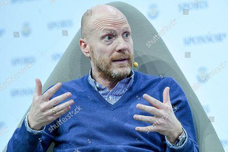 Borussia Dortmund's counsellor Matthias Sammer attends the SPOBIS 2019 at CCD Congress Center