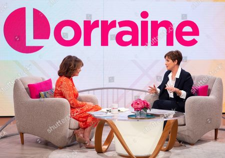 Lorraine Kelly and Emma Forbes