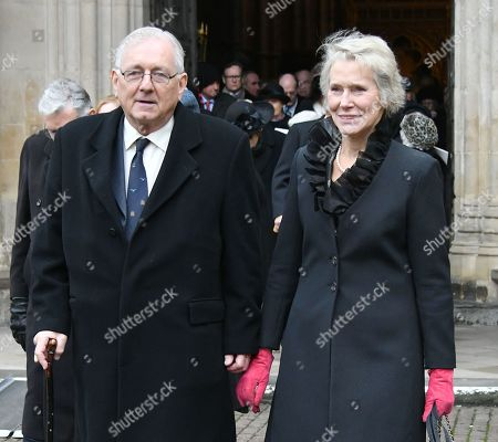 Editorial picture of Service of Thanksgiving for Lord Carrington, London, UK - 31 Jan 2019