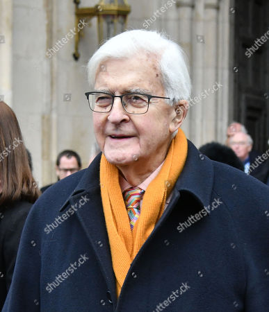 Editorial photo of Service of Thanksgiving for Lord Carrington, London, UK - 31 Jan 2019
