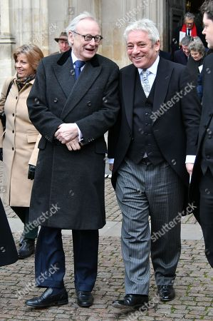 Stock Picture of John Gummer, John Bercow