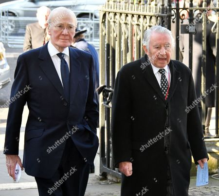 Sir Menzies Campbell and David Steel