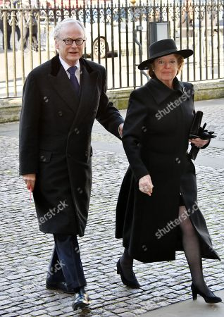 Stock Photo of John Gummer and guest
