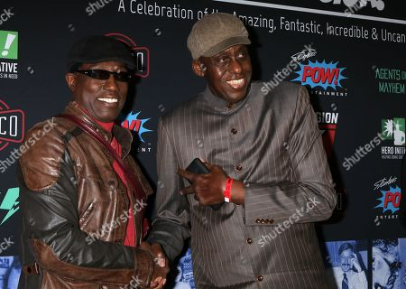 Stock Picture of Wesley Snipes, Bill Duke