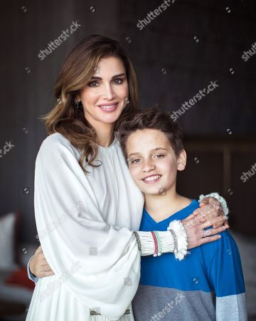 Queen Rania and Prince Hashem release photograph to mark his birthday