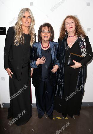 Tiziana Rocca, Claudia Cardinale, Cristina Priarone