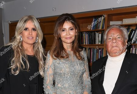 Tiziana Rocca, Lola Karimova-Tillyaeva, Massimo Gargia