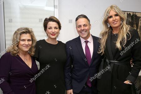 Valeria Rumori, Silvia Chiave, Consul General of Italy in Los Angeles, Joe Buscaino, Tiziana Rocca