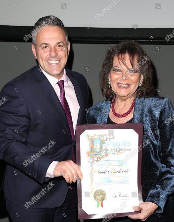 Claudia Cardinale, Joe Buscaino