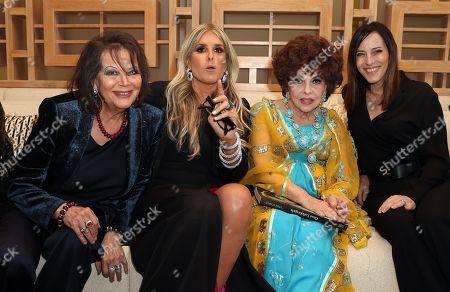 Claudia Cardinale, Tiziana Rocca, Gina Lollobrigida, Guest