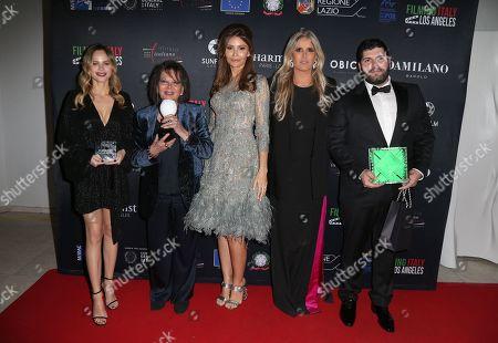 Halston Sage, Claudia Cardinale, Lola Karimova-Tillyaeva, Tiziana Rocca, Salvatore Esposito