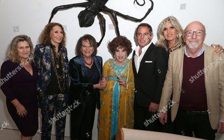 Valeria Rumori, Claudia Cardinale, Gina Lollobrigida, Eugenio Lopez Alonso, Tiziana Rocca, Lorenzo Soria
