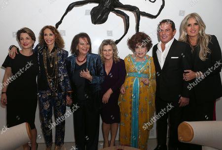 Valeria Rumori, Claudia Cardinale, Gina Lollobrigida, Eugenio Lopez Alonso, Tiziana Rocca