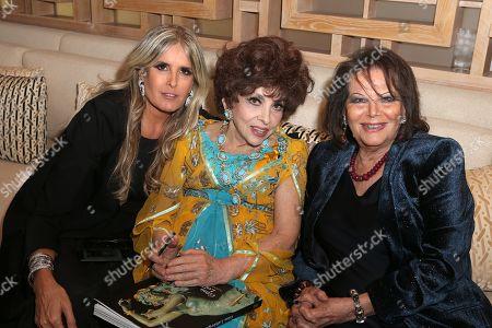 Tiziana Rocca, Gina Lollobrigida, Claudia Cardinale