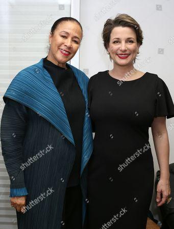 Elga Sharpe, Silvia Chiave, Consul General of Italy in Los Angeles