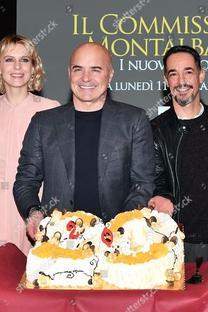 Editorial image of 'Commissario Montalbano' photocall, Rome, Italy - 31 Jan 2019