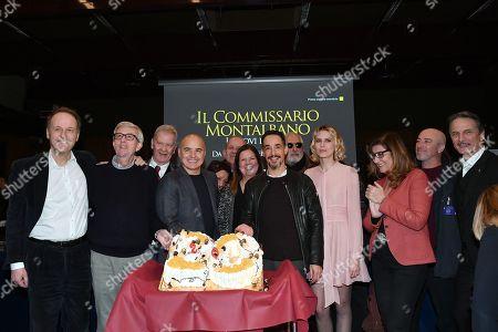 Francesco Bruni, Alberto Sironi, Luca Zingaretti, Eleonora Andreatta, Peppino Mazzotta, Elena Radonicich, Cesare Bocci