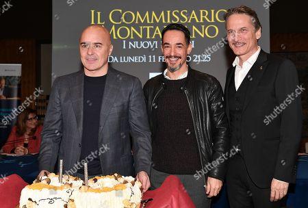 Luca Zingaretti, Peppino Mazzotta, Cesare Bocci