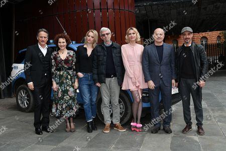 Alberto Sironi, Cesare Bocci, Anna Ferruzzo, Giorgia Salari, Elena Radonicich, Luca Zingaretti, Peppino Mazzotta