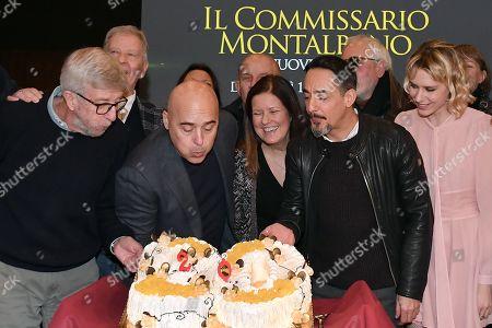 Alberto Sironi, Luca Zingaretti, Eleonora Andreatta, Peppino Mazzotta, Elena Radonicich