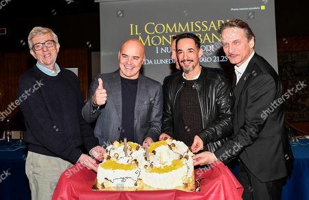 Alberto Sironi, Luca Zingaretti, Peppino Mazzotta, Cesare Bocci