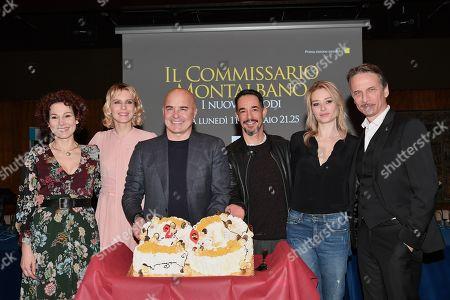 Anna Ferruzzo, Elena Radonicich, Luca Zingaretti, Peppino Mazzotta, Giorgia Solari, Cesare Bocci