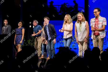 Stock Image of Alex Boniello, Phoenix Best, Michael Park, Mallory Bechtel, Andrew Barth Feldman, Lisa Brescia, Jennifer Laura Thompson, Sky Lakota-Lynch