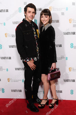 Editorial image of BAFTA EE Rising Star Award party, London, UK - 31 Jan 2019