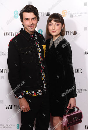 Stock Picture of Harry Richardson and Ellise Chappell