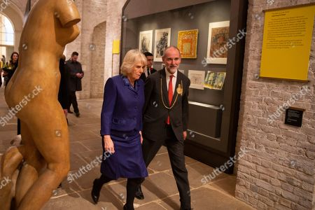 Editorial image of Camilla Duchess of Cornwall visit to the Royal Academy of Art, London, UK - 31 Jan 2019