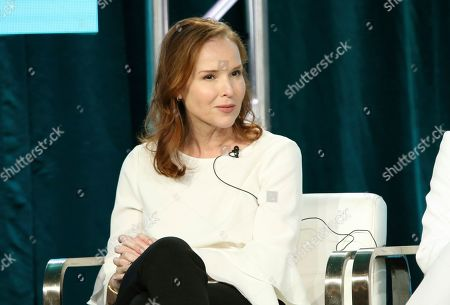 """Jennifer Todd participates in the """"City on a Hill"""" panel during the Showtime TCA Winter Press Tour, in Pasadena, Calif"""
