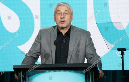 Gary Levine, co-president of entertainment, Showtime, speaks during the Showtime TCA Winter Press Tour, in Pasadena, Calif